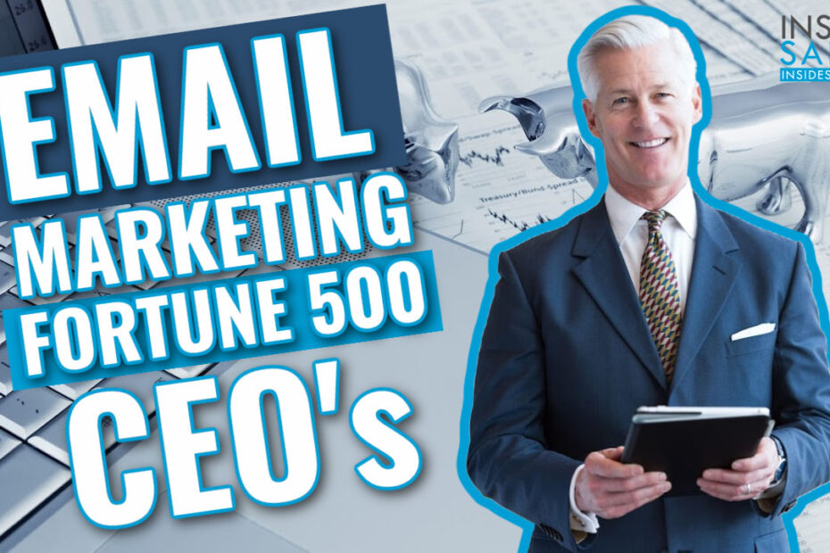 Inside Sales TV Email Marketing to Fortune 500 CEOs Lands Reply from 8th Ranked Company